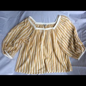 Women's Lucky Brand Striped Blouse